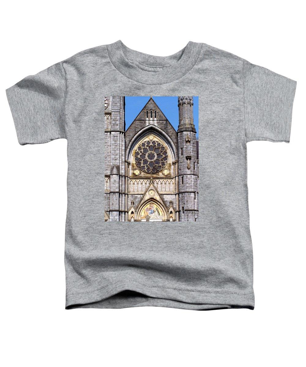 Ireland Toddler T-Shirt featuring the photograph Sacred Heart Church Detail Roscommon Ireland by Teresa Mucha