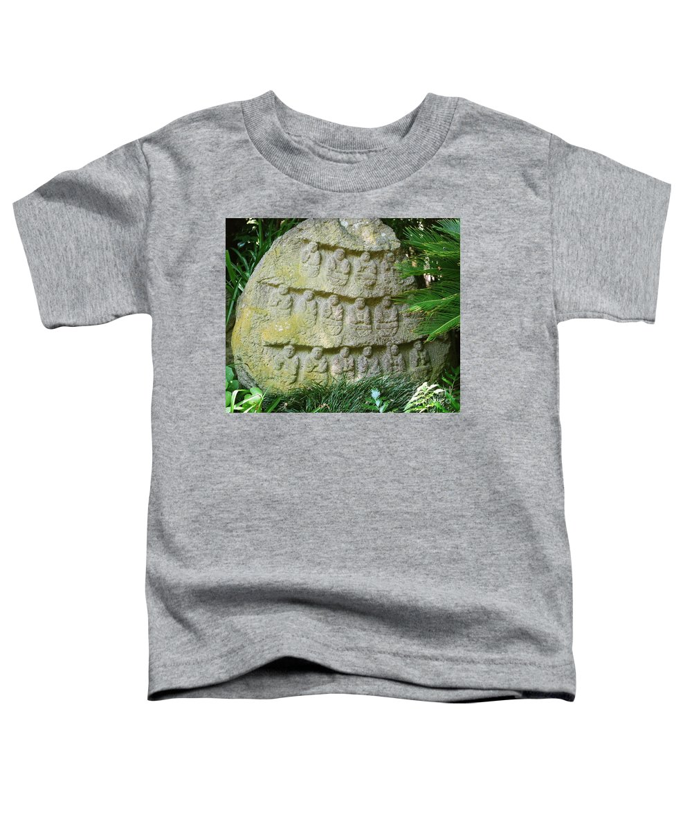 Stone Toddler T-Shirt featuring the photograph Sacred Stone by Dean Triolo