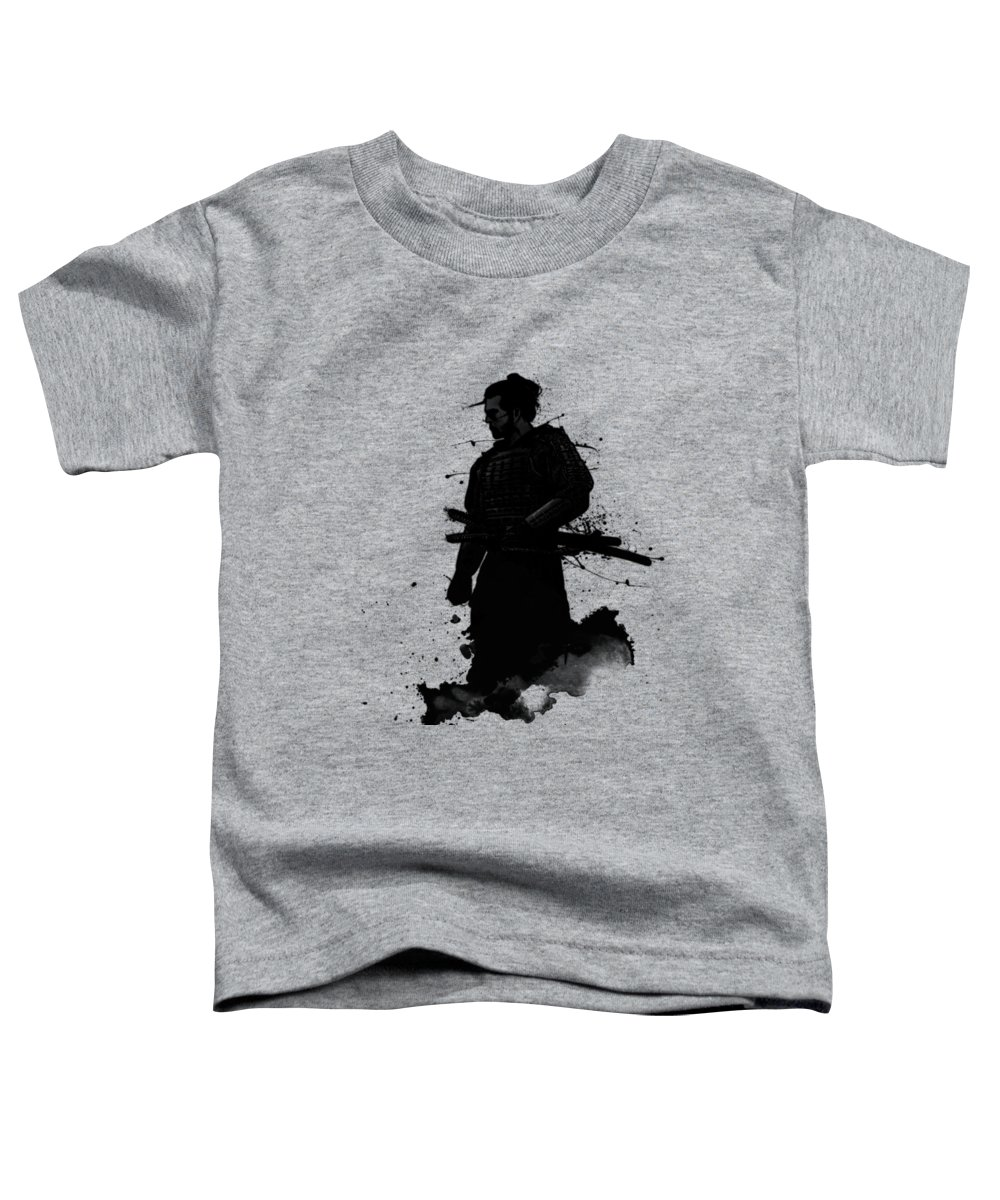 Samurai Toddler T-Shirt featuring the painting Samurai by Nicklas Gustafsson