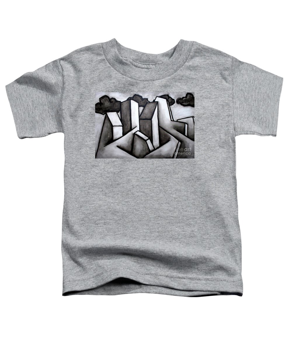 Absract Toddler T-Shirt featuring the painting Scape by Thomas Valentine