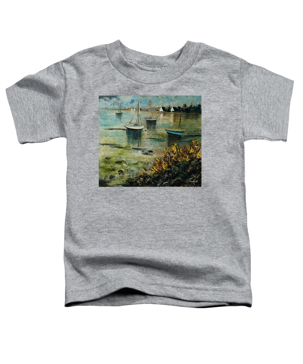 Seascape Toddler T-Shirt featuring the print Seascape 78 by Pol Ledent