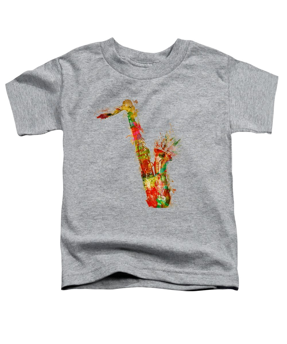Saxophone Toddler T-Shirts