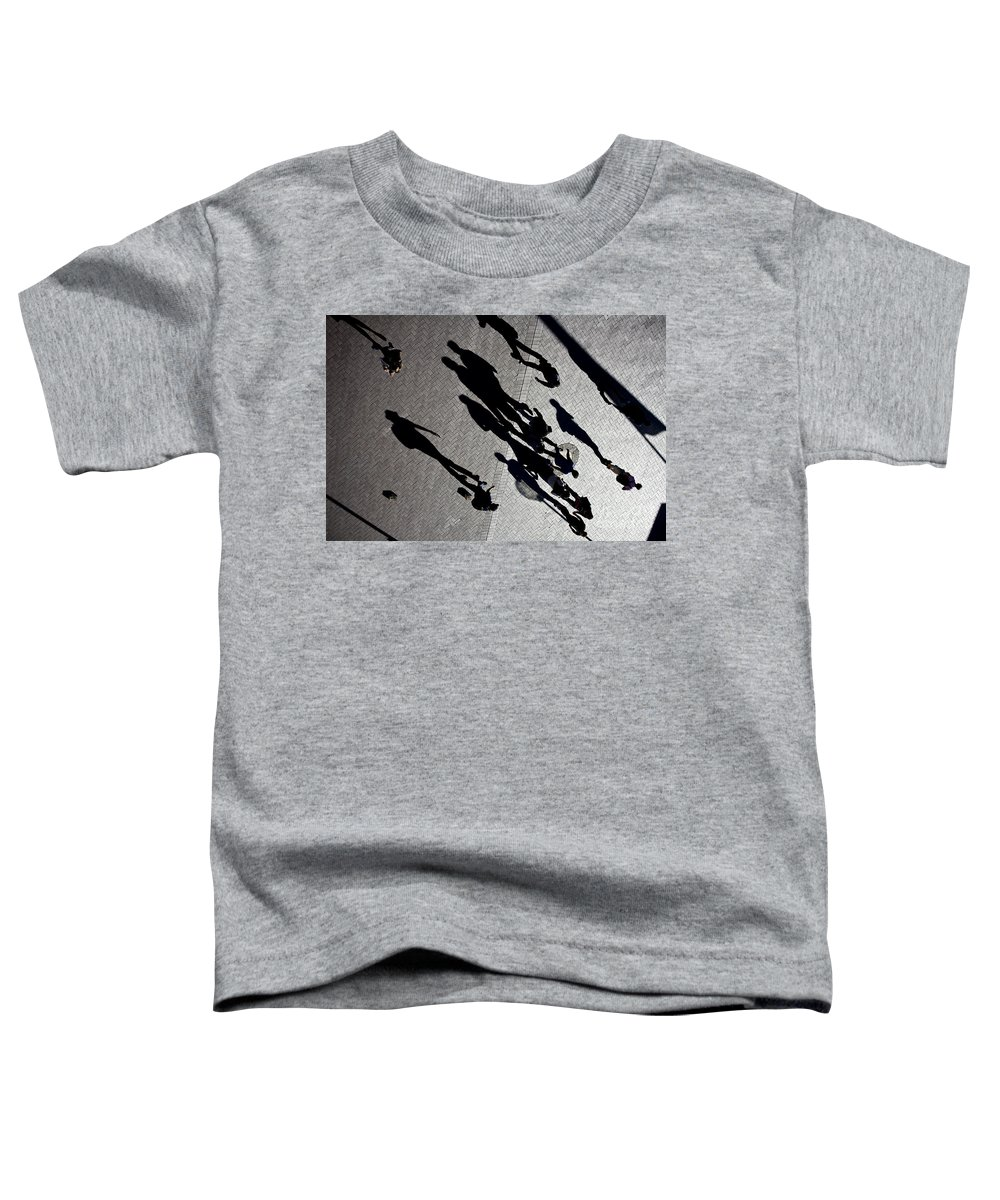 Shadows People Abstract Toddler T-Shirt featuring the photograph Shadows by Sheila Smart Fine Art Photography