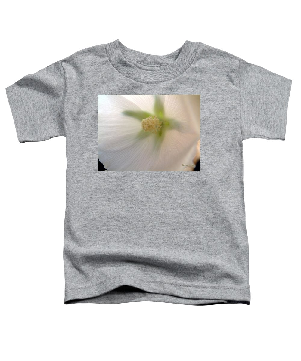 Blossom Toddler T-Shirt featuring the photograph Shimmer by RC DeWinter