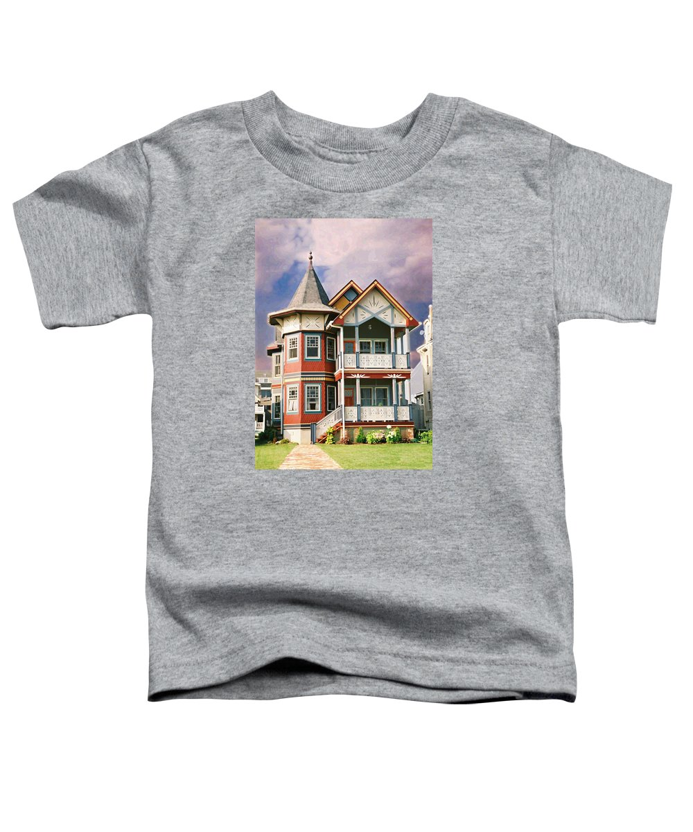 Landscape Toddler T-Shirt featuring the photograph Sisters Panel Two Of Triptych by Steve Karol