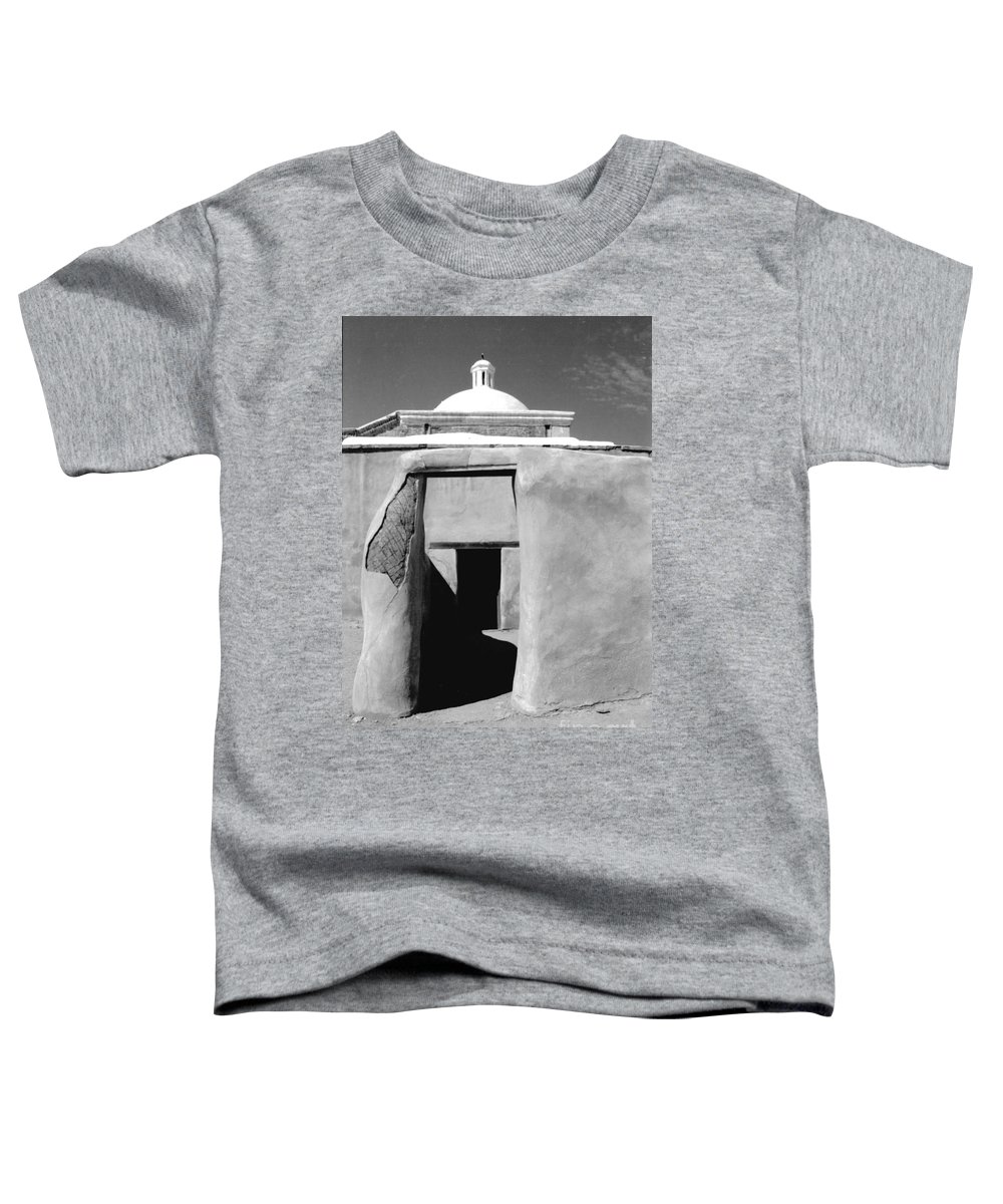 Shadows Toddler T-Shirt featuring the photograph Sol Y Sombra by Kathy McClure