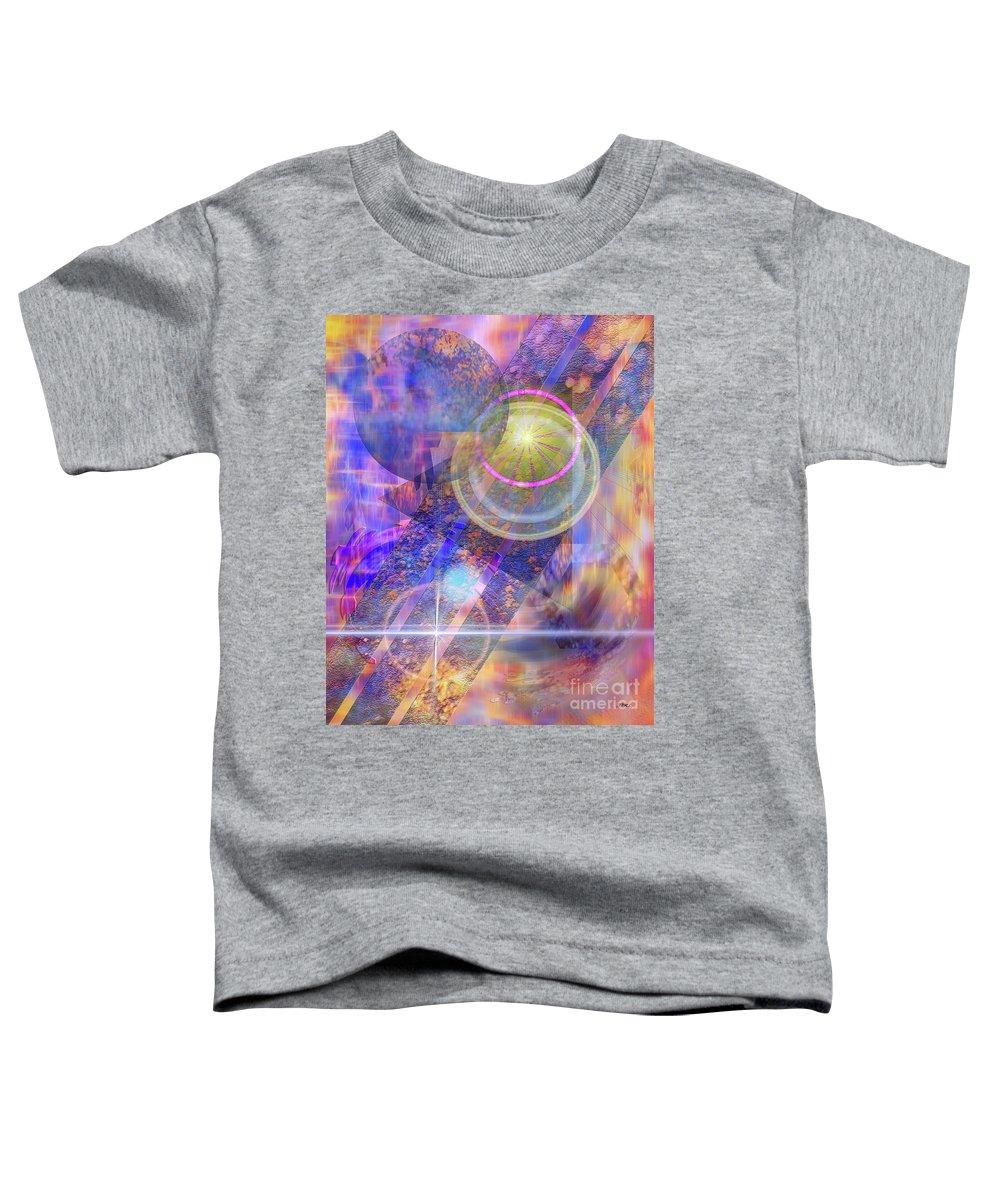 Solar Progression Toddler T-Shirt featuring the digital art Solar Progression by John Beck