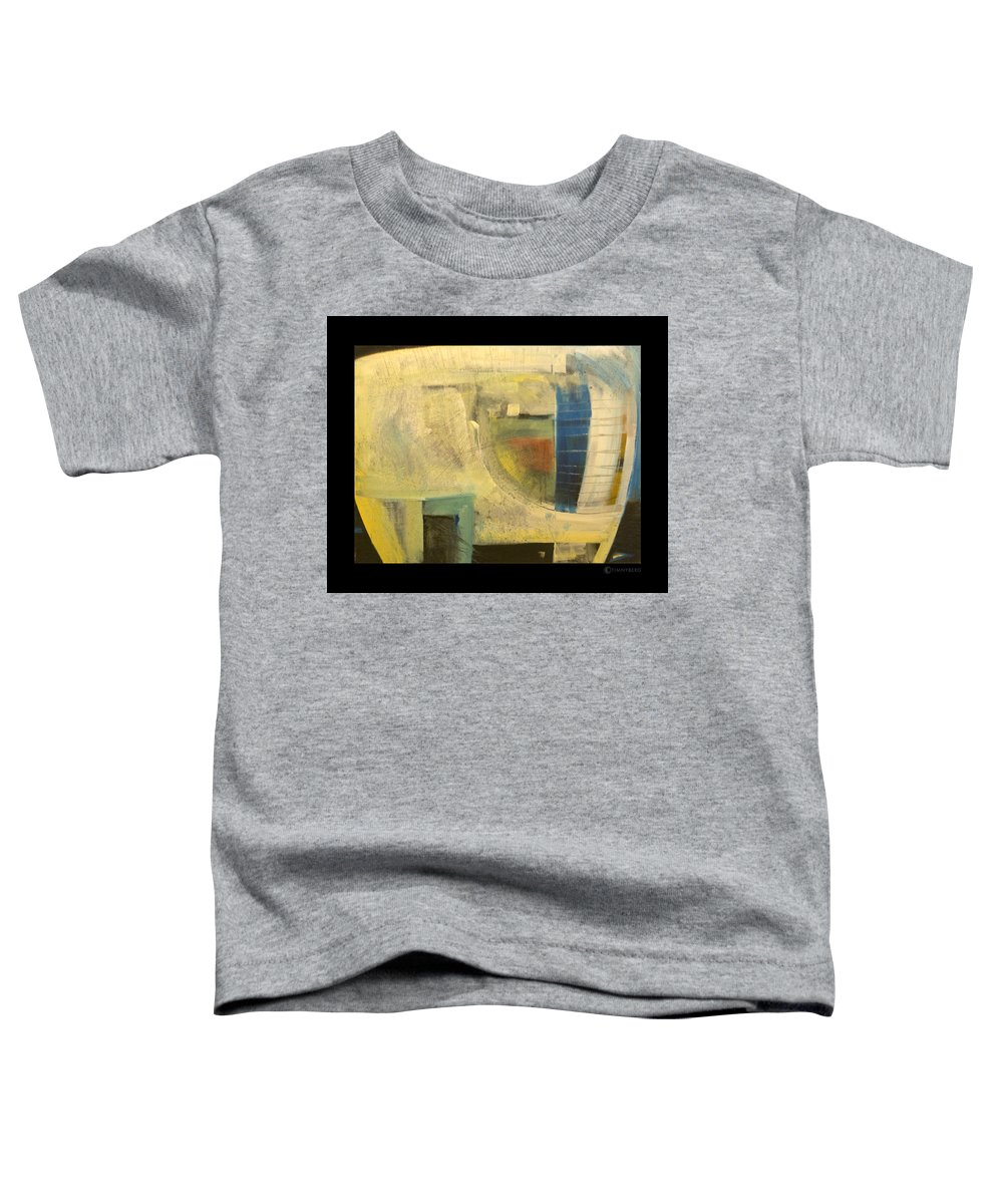 Dog Toddler T-Shirt featuring the painting Space Dog by Tim Nyberg