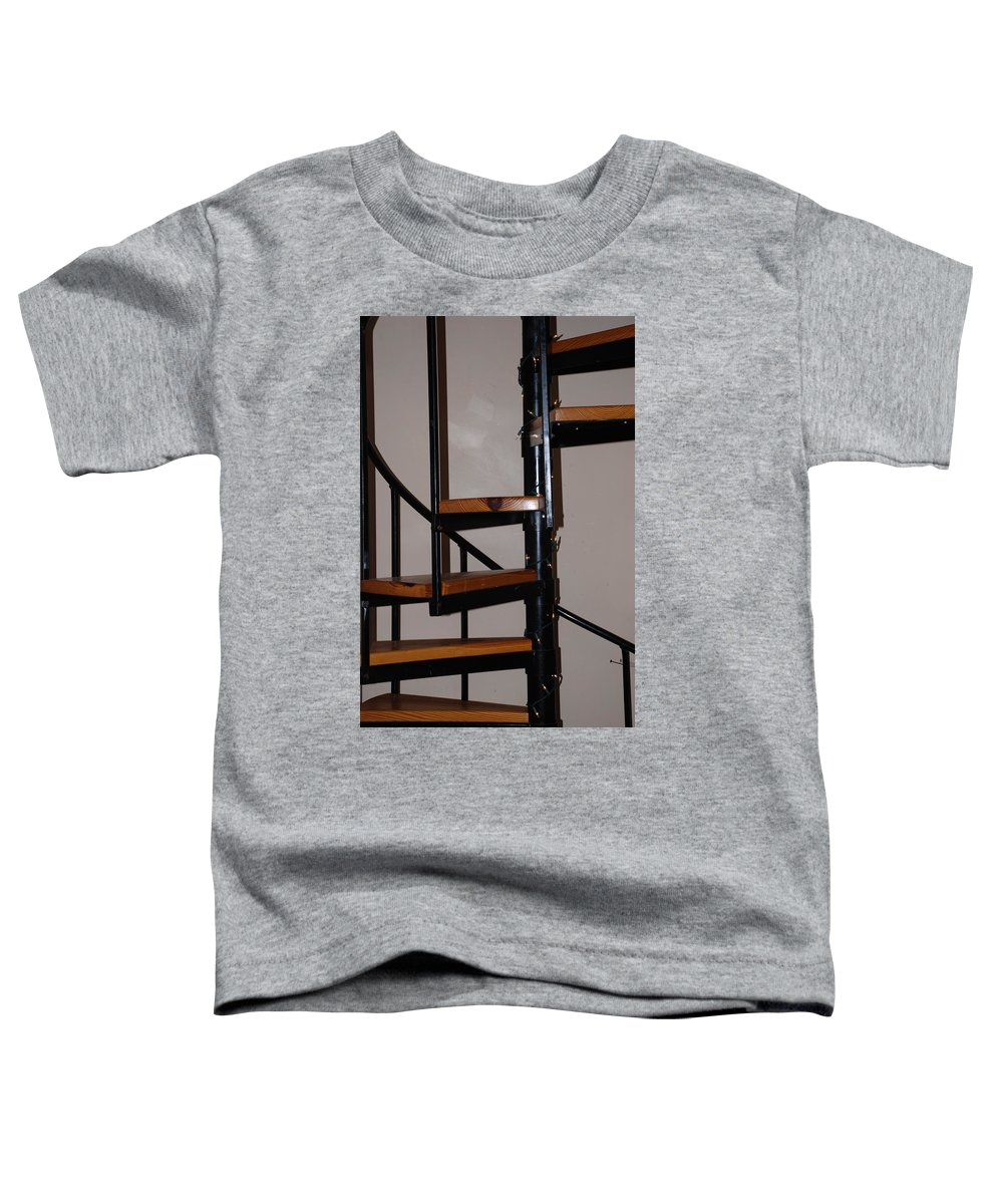 Stairs Toddler T-Shirt featuring the photograph Spiral Stairs by Rob Hans