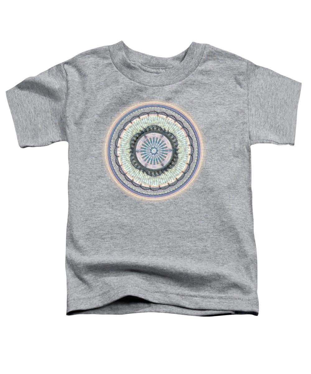 Interior Toddler T-Shirt featuring the digital art Spiritual Growth by Anastasiya Malakhova