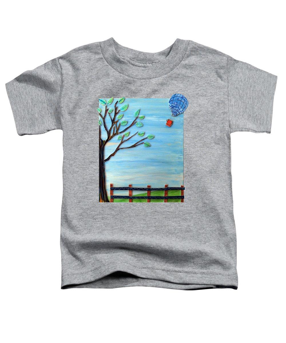 Vivid Mixed Media Toddler T-Shirts