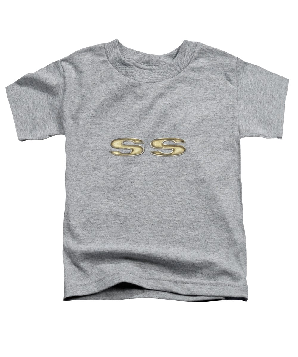 Antique Toy Toddler T-Shirt featuring the photograph Super Sport Emblem by YoPedro
