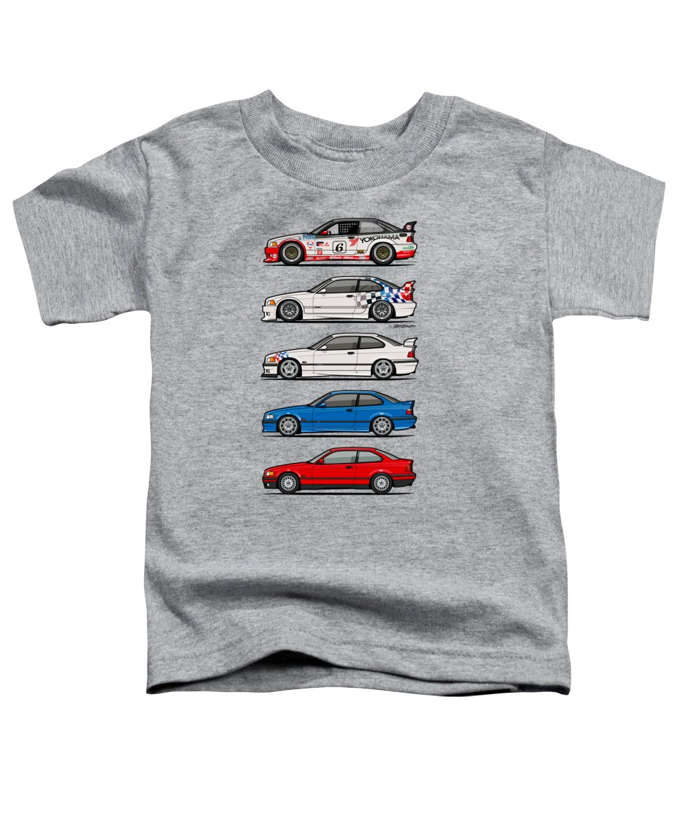 Racecar Toddler T-Shirts