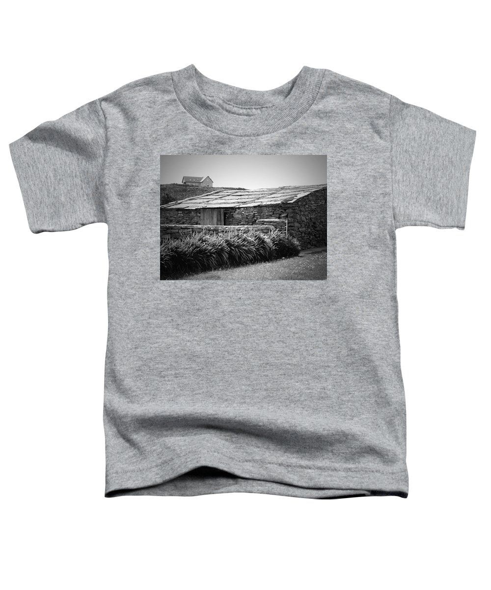 Irish Toddler T-Shirt featuring the photograph Stone Structure Doolin Ireland by Teresa Mucha