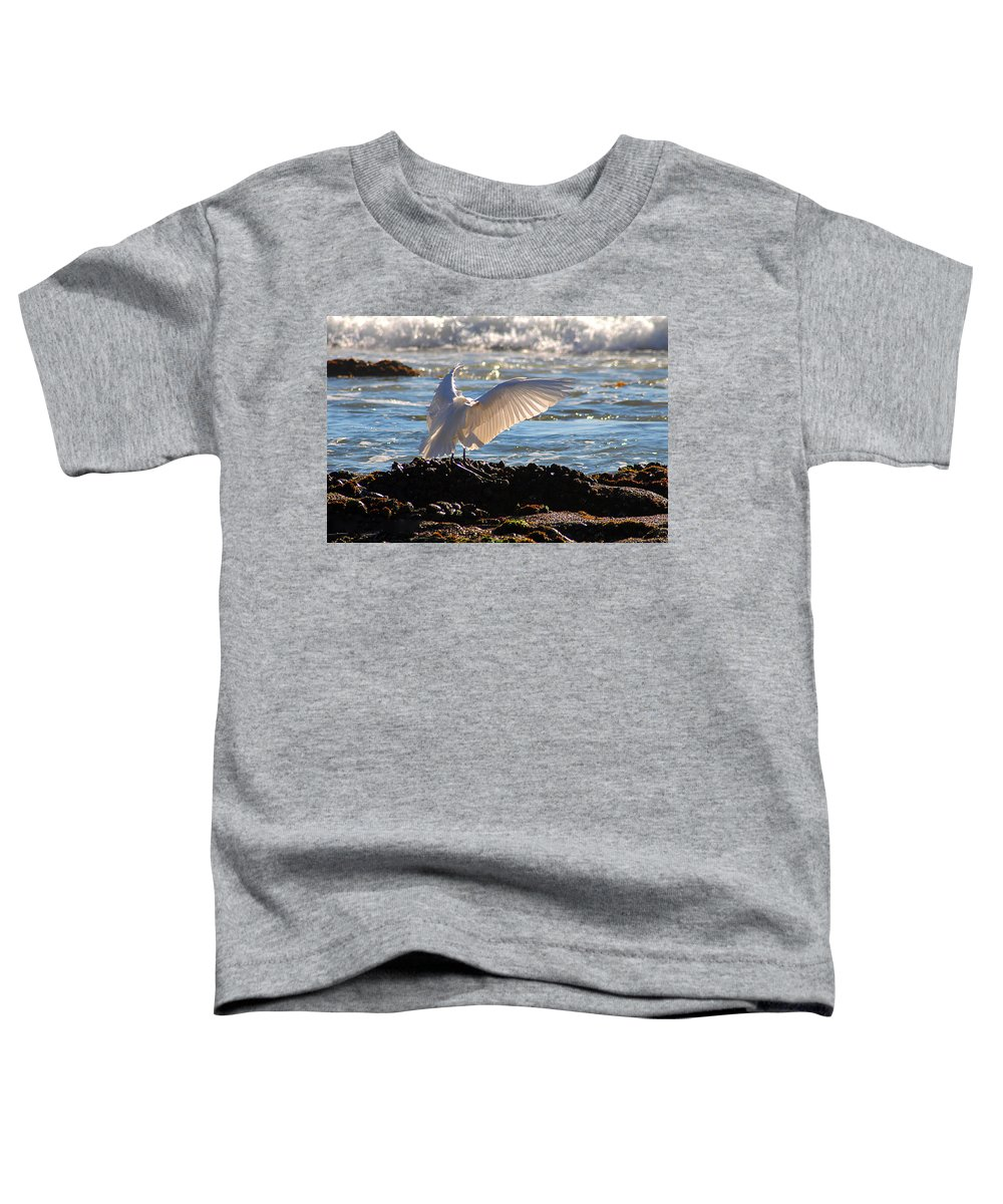 Clay Toddler T-Shirt featuring the photograph Strut by Clayton Bruster