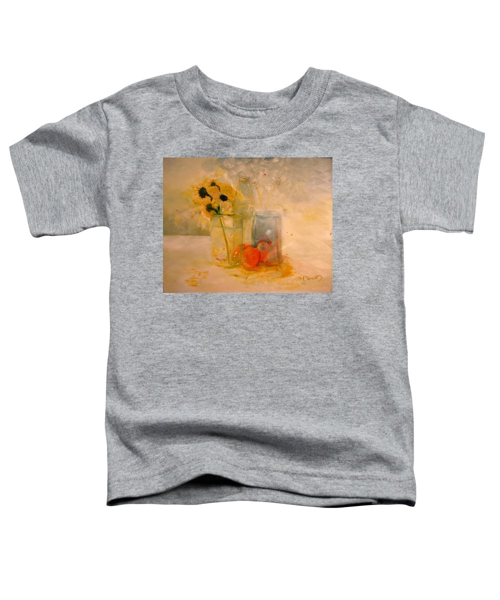 Daisey Toddler T-Shirt featuring the painting Summer Light by Jack Diamond