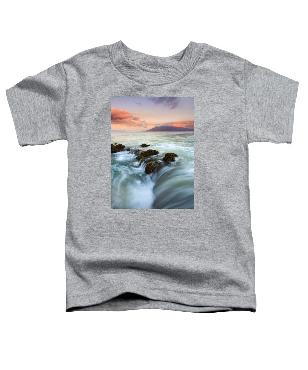 Sunrise Toddler T-Shirt featuring the photograph Sunrise Drain by Mike Dawson