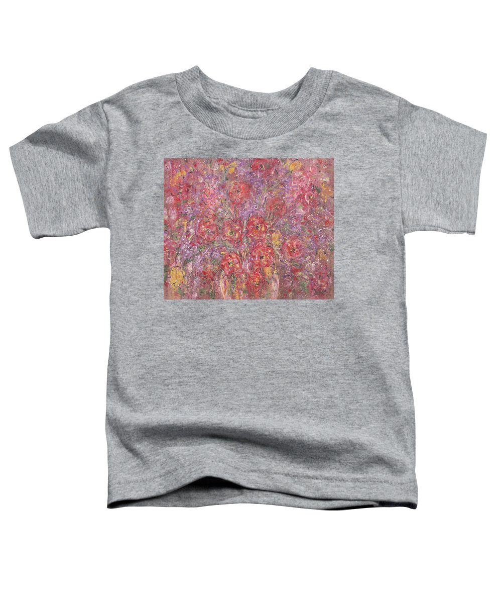 Still Life Toddler T-Shirt featuring the painting Sweet Memories by Natalie Holland
