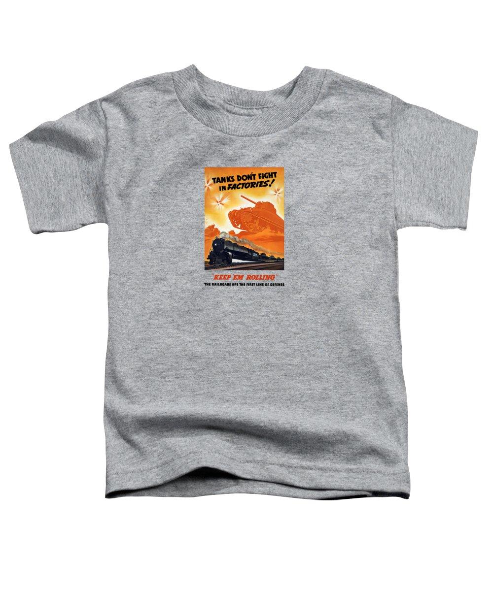 Train Toddler T-Shirts