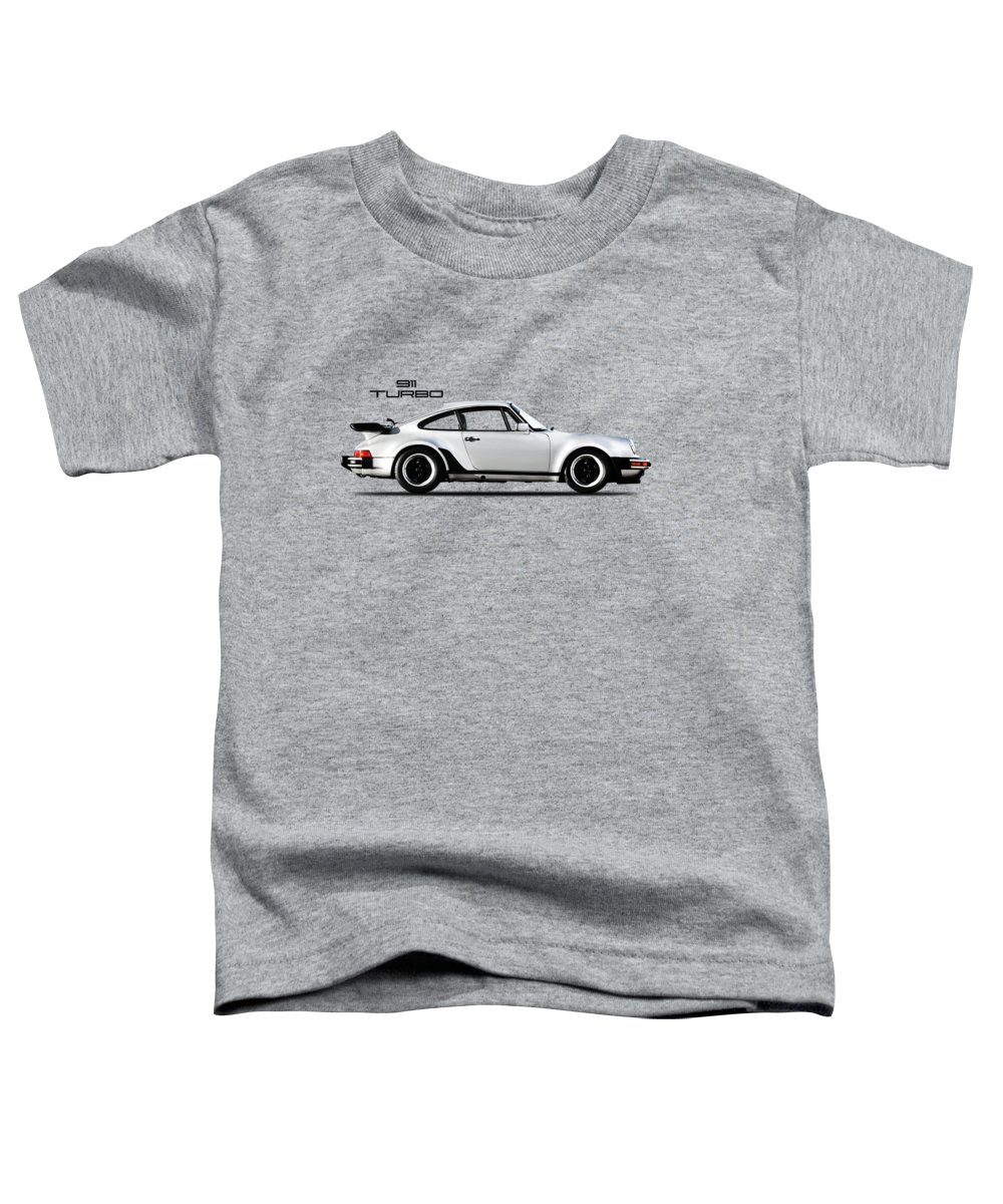 Porsche 911 Turbo Toddler T-Shirt featuring the photograph The 911 Turbo 1984 by Mark Rogan