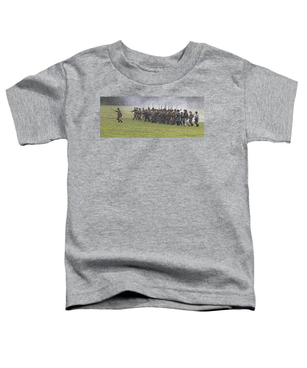 Civil War Toddler T-Shirt featuring the photograph The Conflict by Robert Pearson