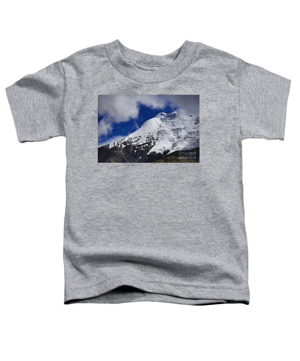 Tibet Toddler T-Shirt featuring the photograph The Himalayas Tibet Yantra.lv 2016 by Raimond Klavins