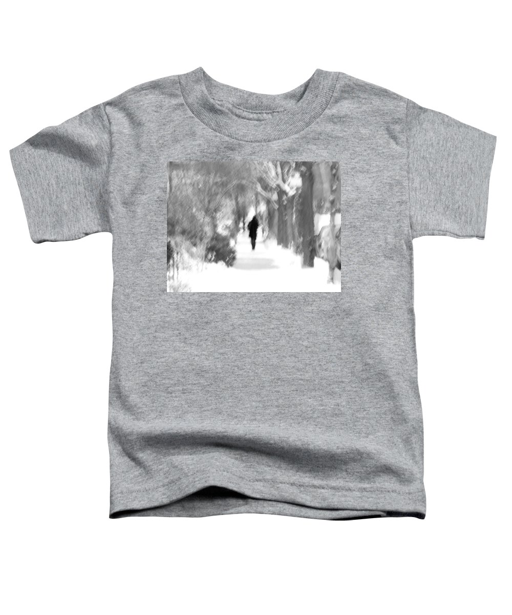 Blur Toddler T-Shirt featuring the photograph The Long December by Dana DiPasquale