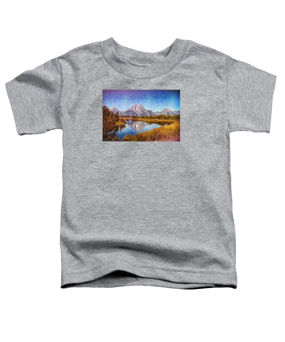 Jackson Toddler T-Shirt featuring the photograph The Midsummer Mount Moran by John M Bailey