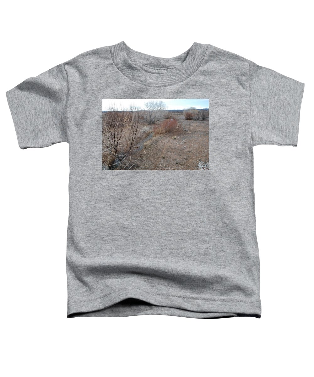 River Toddler T-Shirt featuring the photograph The Mighty Santa Fe River by Rob Hans