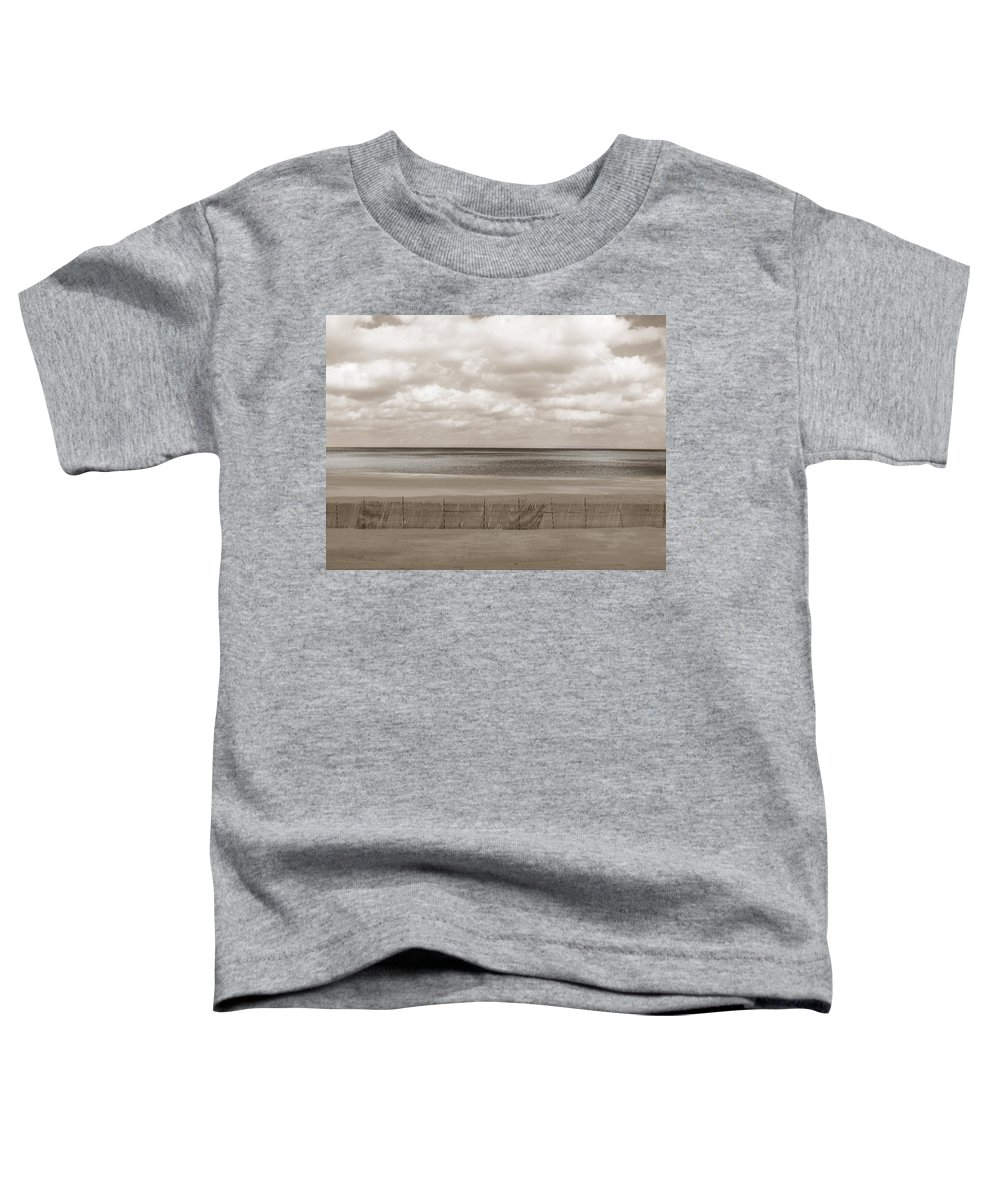 Ocean Toddler T-Shirt featuring the photograph The Perfect Sky Is Torn by Dana DiPasquale