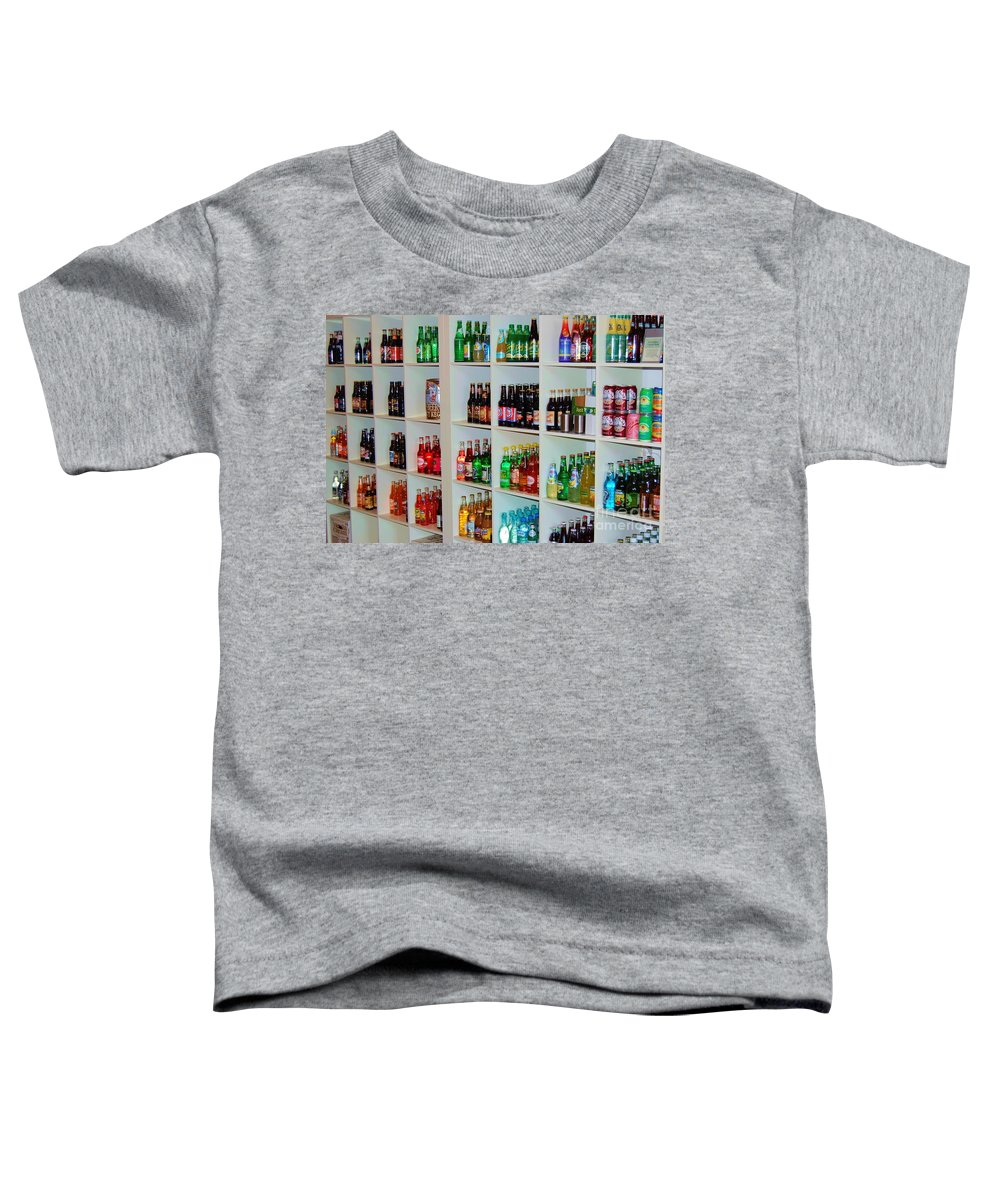 Soda Toddler T-Shirt featuring the photograph The Soda Gallery by Debbi Granruth