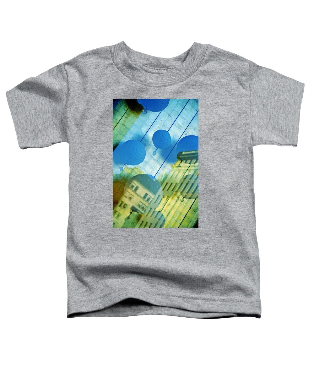 New York Toddler T-Shirt featuring the photograph Tiffanys by Skip Hunt
