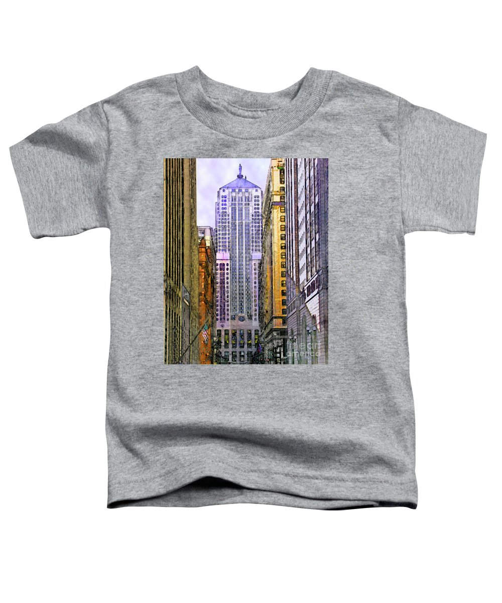 Trading Places Toddler T-Shirt featuring the digital art Trading Places by John Beck