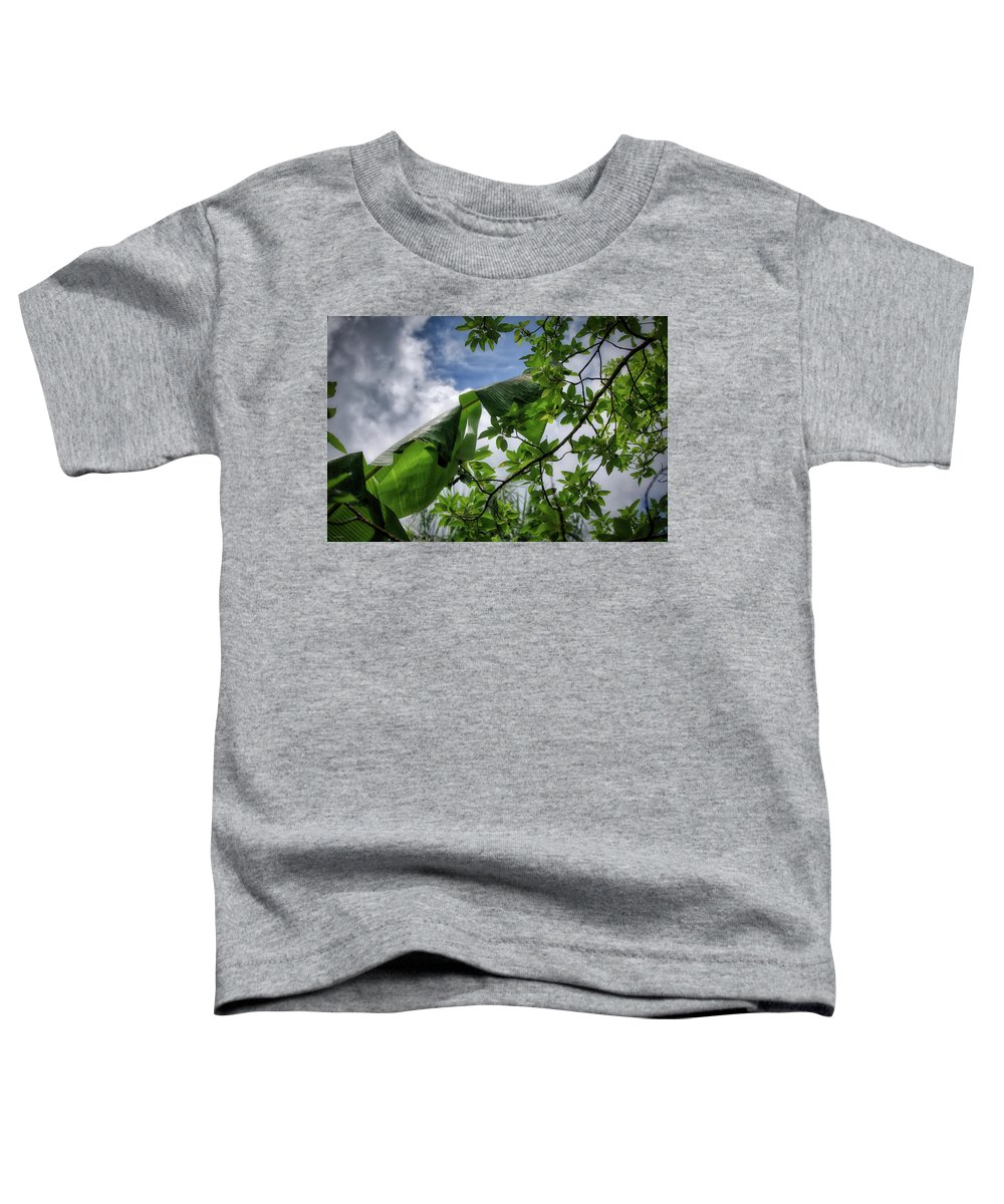 Punta Toddler T-Shirt featuring the photograph Tropical Sky by Ross Henton