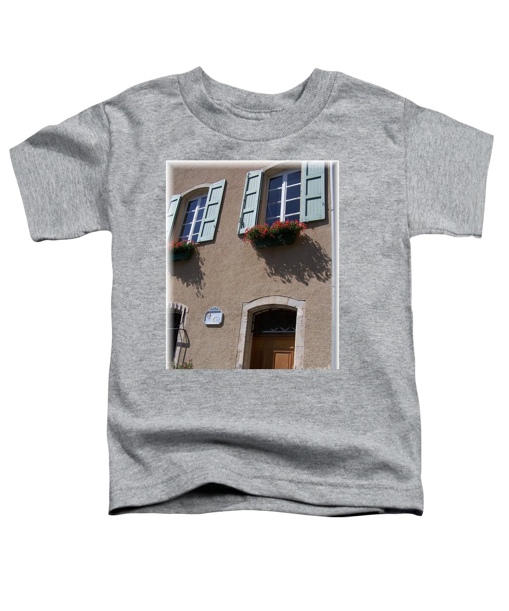 House Toddler T-Shirt featuring the photograph Un Maison by Nadine Rippelmeyer