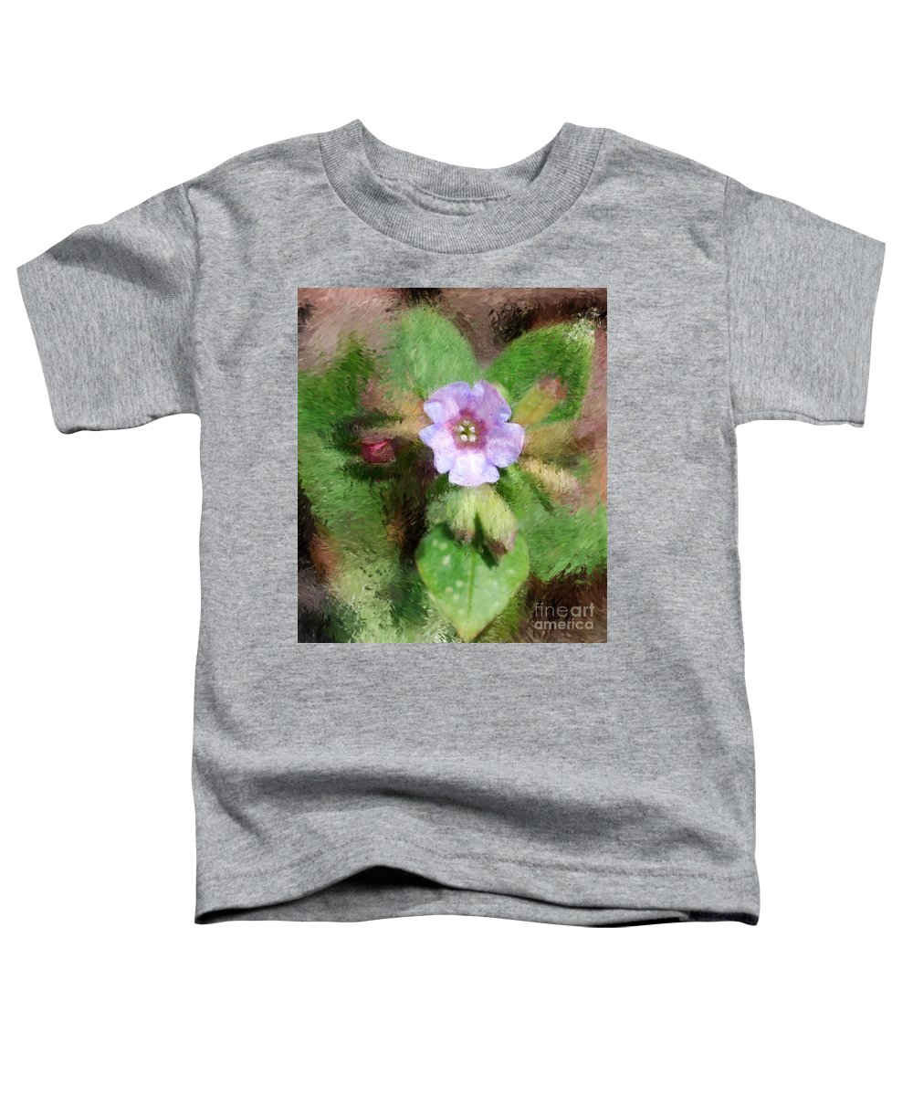 Digital Photo Toddler T-Shirt featuring the photograph Untitled Floral -1 by David Lane