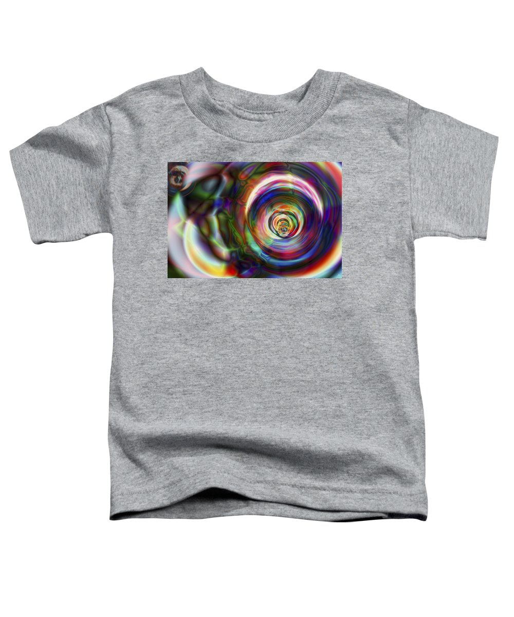 Crazy Toddler T-Shirt featuring the digital art Vision 8 by Jacques Raffin
