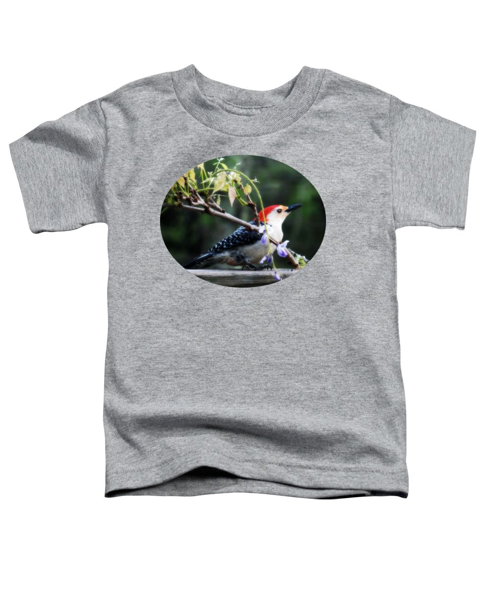 Woodpecker Toddler T-Shirts