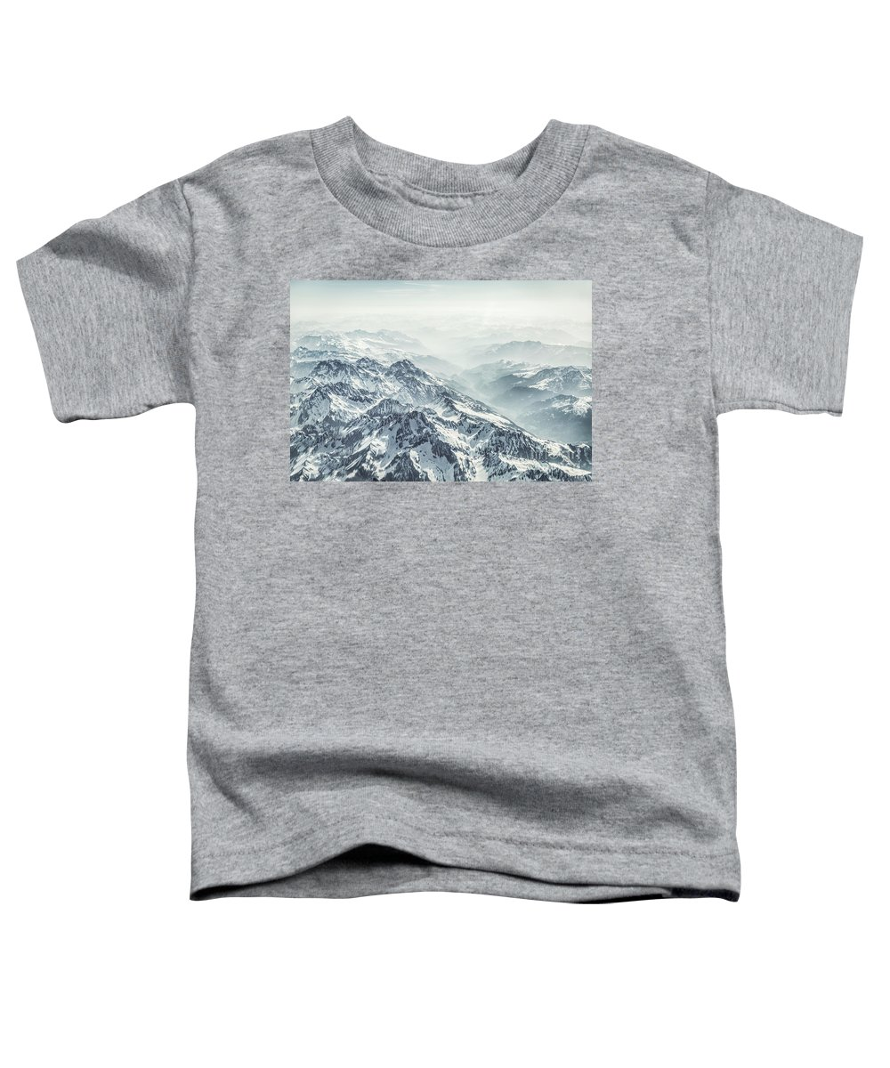 Kremsdorf Toddler T-Shirt featuring the photograph Where The Snow Never Melts by Evelina Kremsdorf