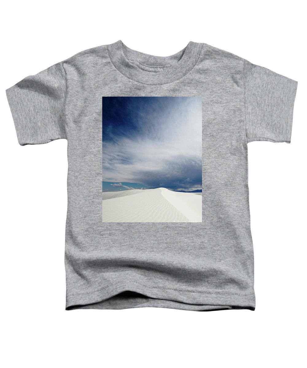 White Sands National Monument Toddler T-Shirt featuring the photograph White Sands by DiFigiano Photography