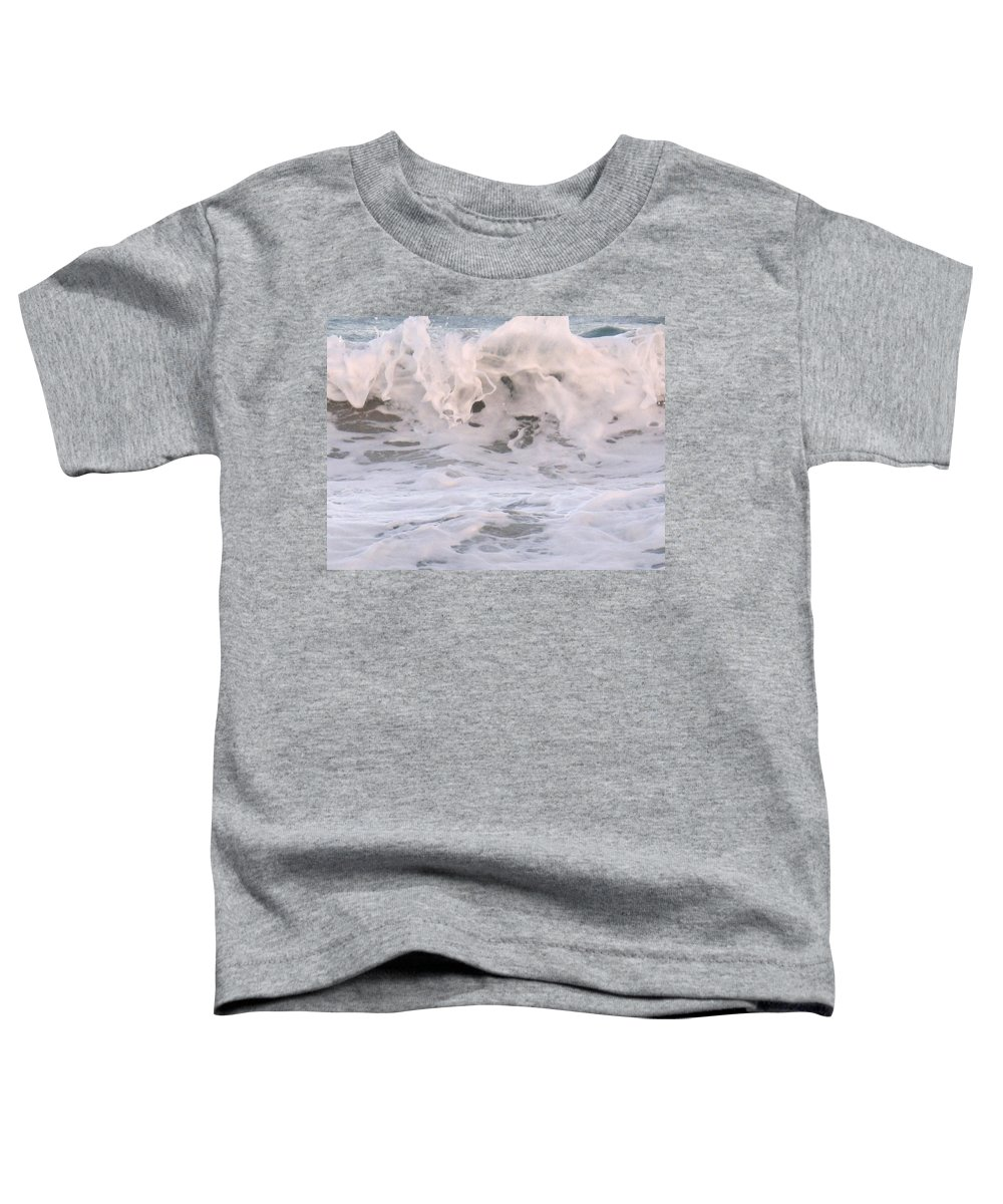 Surf Toddler T-Shirt featuring the photograph Wild Surf by Ian MacDonald