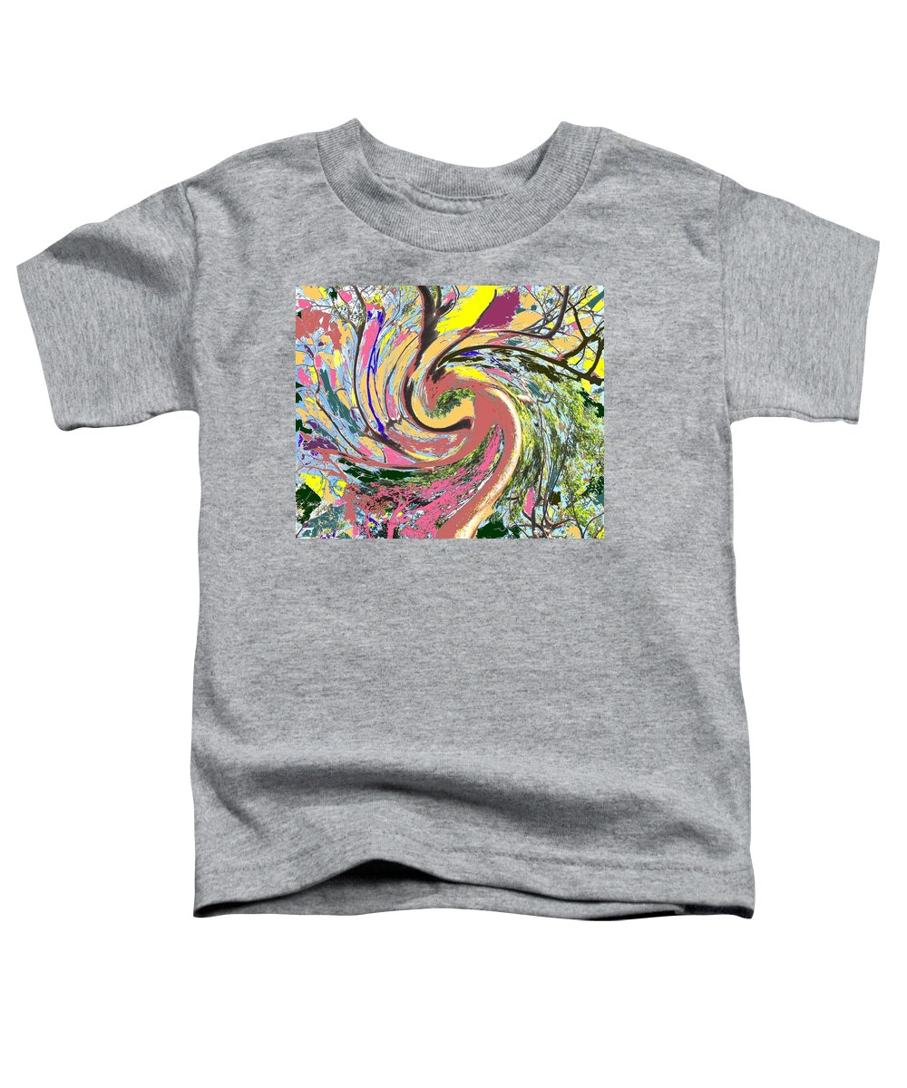 Blue Toddler T-Shirt featuring the photograph Wild Tree by Ian MacDonald