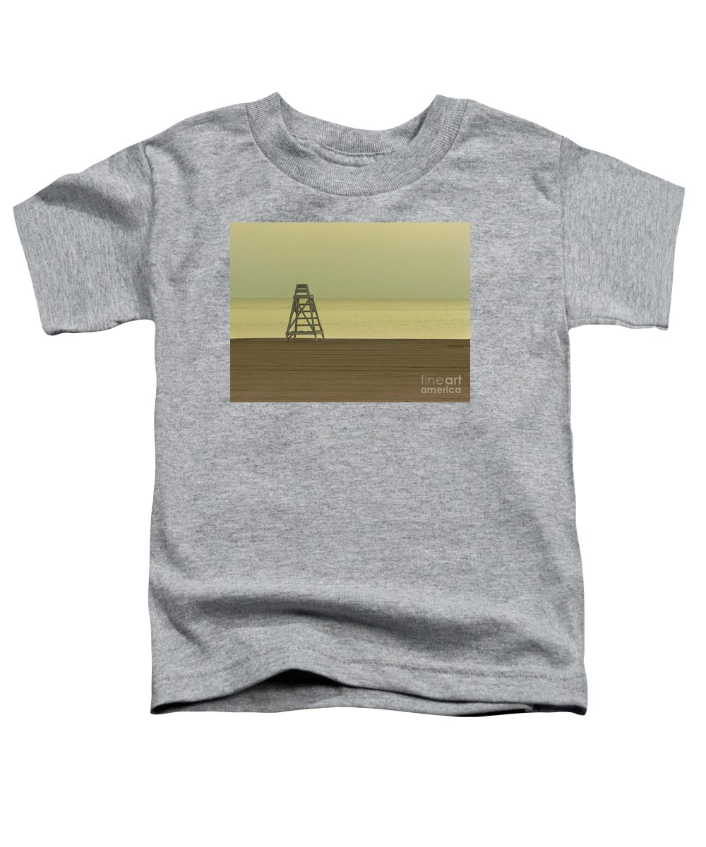Beach Toddler T-Shirt featuring the photograph Will You Lay Here With Me And Just Forget The World by Dana DiPasquale