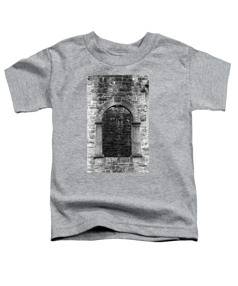 Irish Toddler T-Shirt featuring the photograph Window At Donegal Castle Ireland by Teresa Mucha