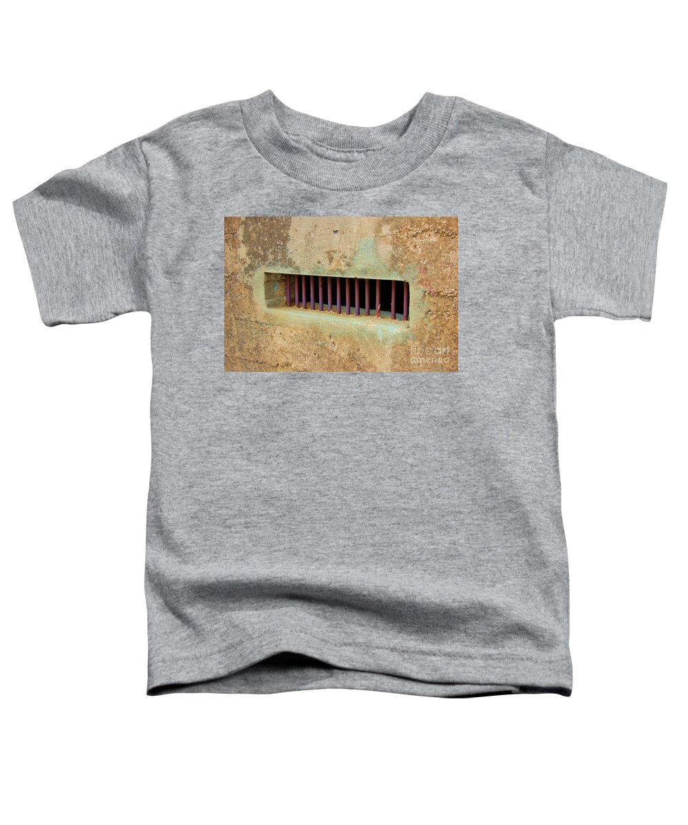 Jail Toddler T-Shirt featuring the photograph Window To The World by Debbi Granruth
