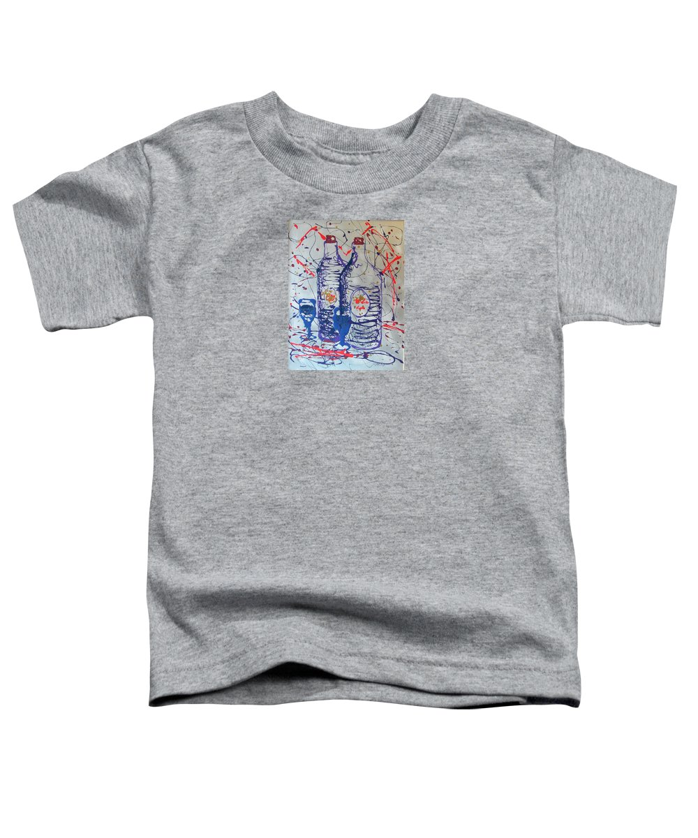 Impressionist Painting Toddler T-Shirt featuring the painting Wine Jugs by J R Seymour