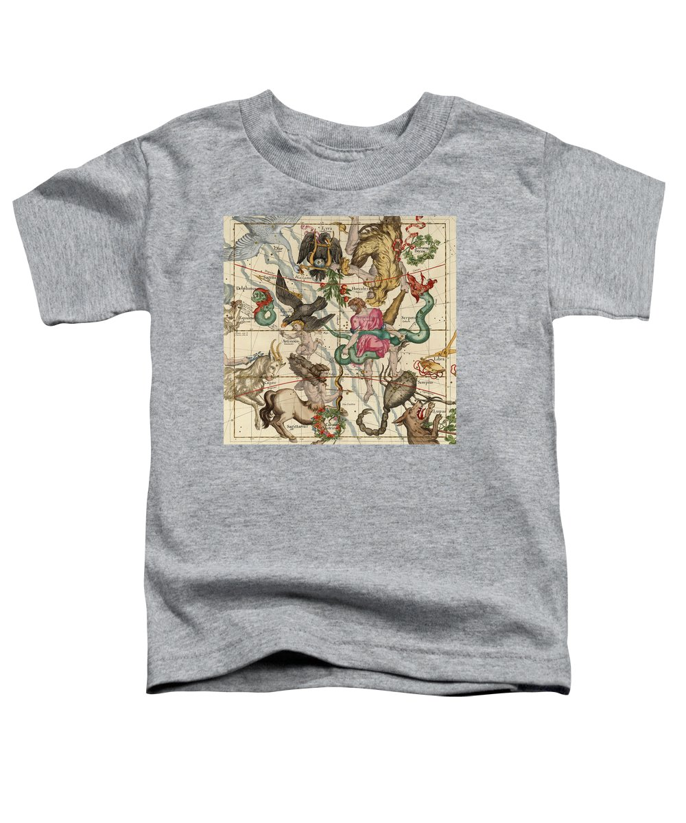 Winter Solstice Toddler T-Shirt featuring the painting Winter Solstice by Ignace-Gaston Pardies