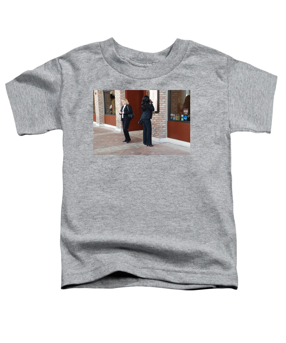 Girls Toddler T-Shirt featuring the photograph Ying Yang by Rob Hans