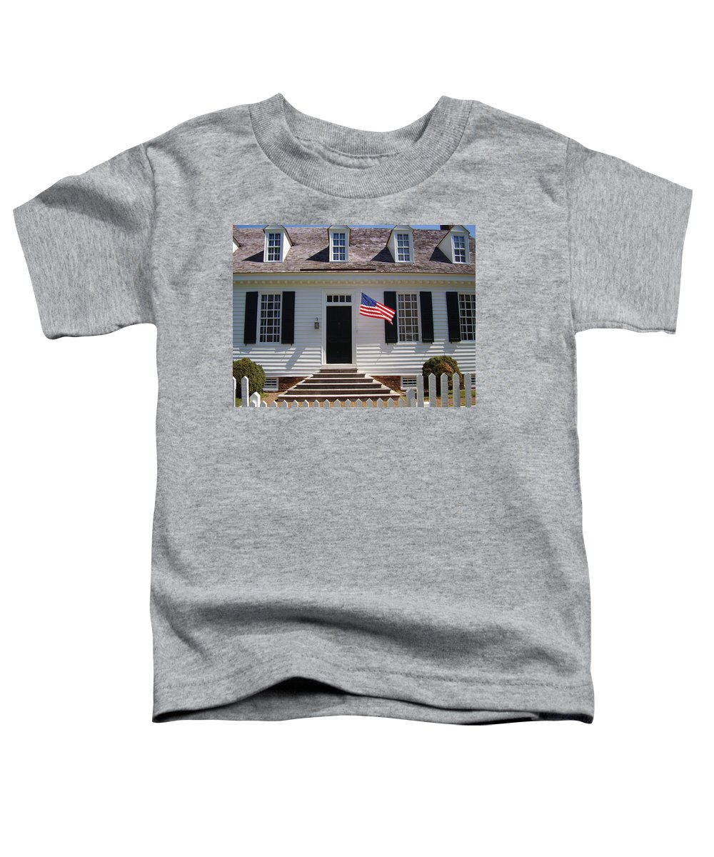 Yorktown Toddler T-Shirt featuring the photograph Yorktown II by Flavia Westerwelle