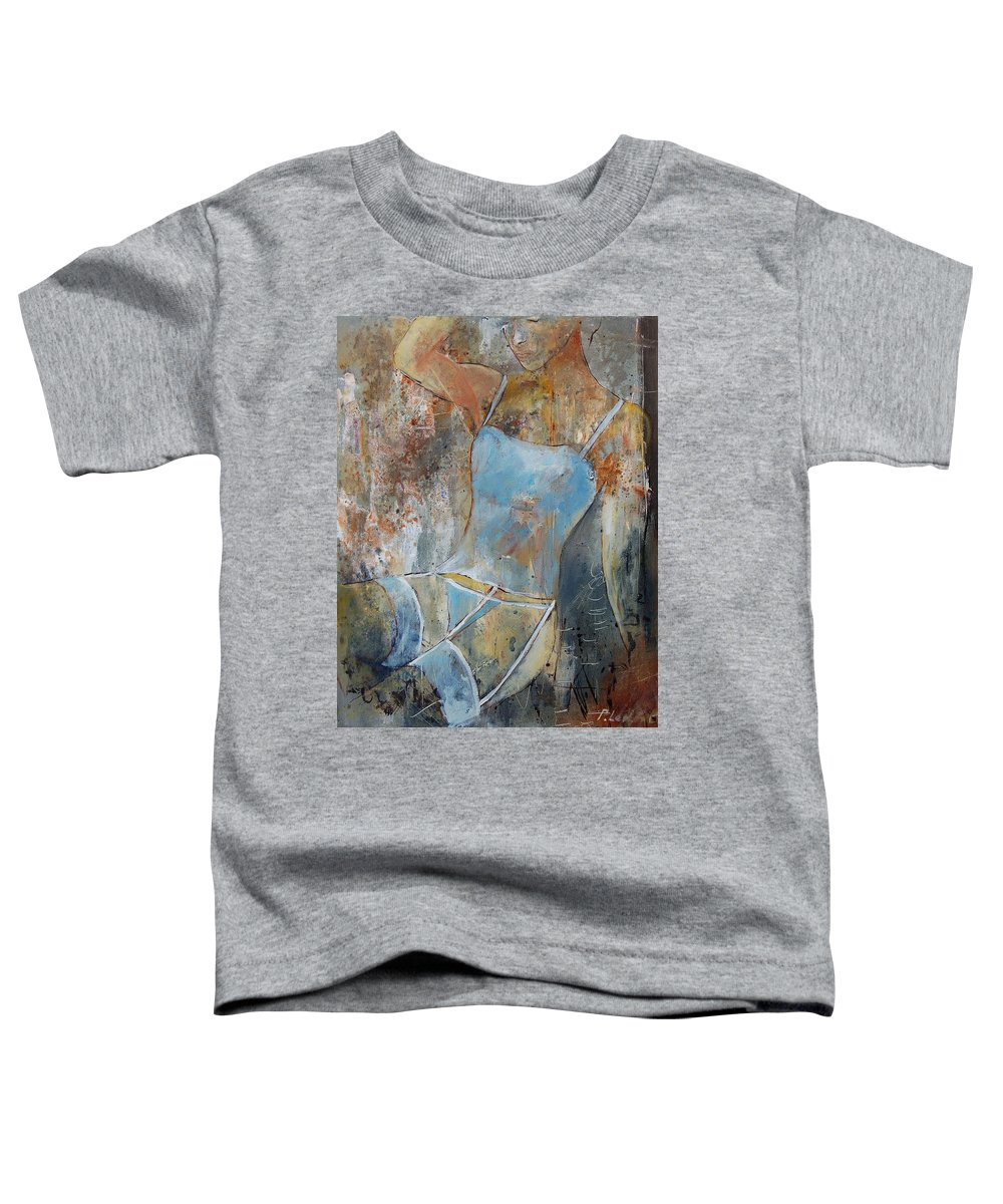 Nude Toddler T-Shirt featuring the painting Young Girl 451108 by Pol Ledent
